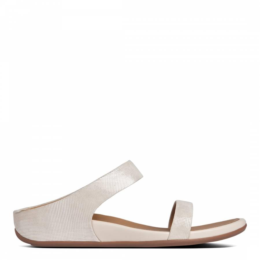 79c489f70 Stone Leather Banda Slide Sandals - BrandAlley