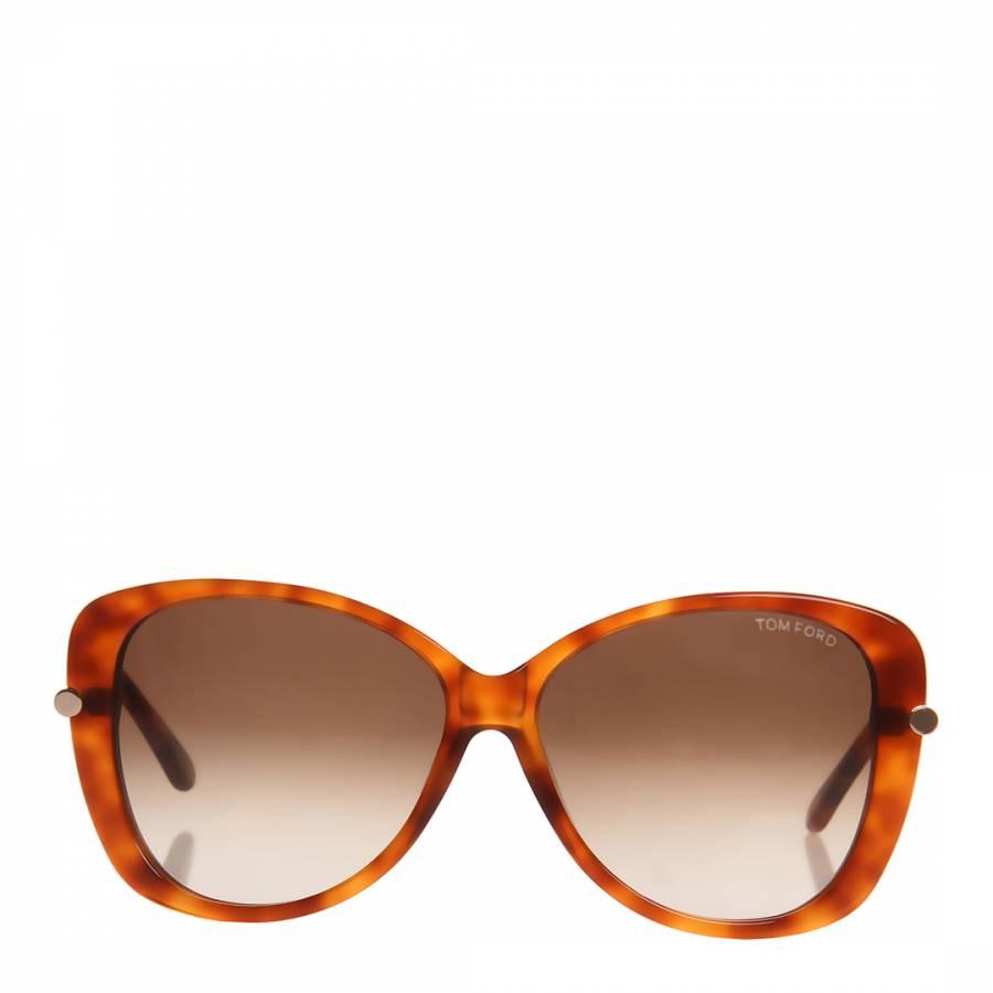 6b0c15b36e9 Women s Light Havana Brown Linda Gradient Sunglasses 59mm - BrandAlley