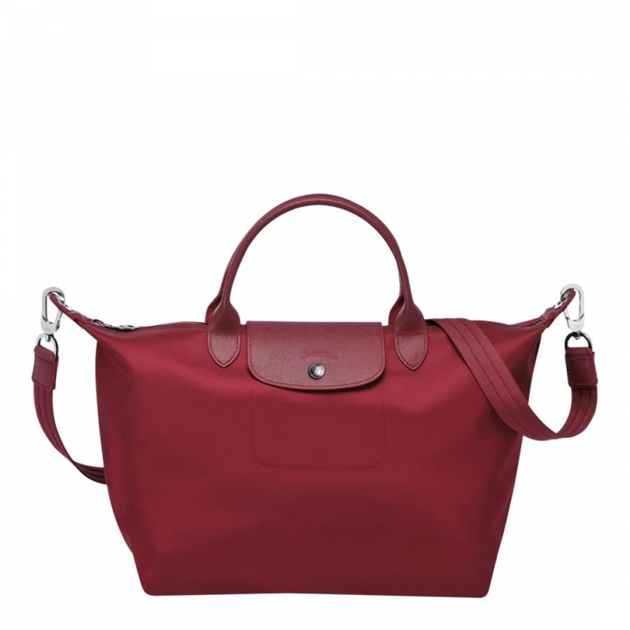 1f48064d0cbe Dark Red Le Pliage Neo Tote Bag - BrandAlley