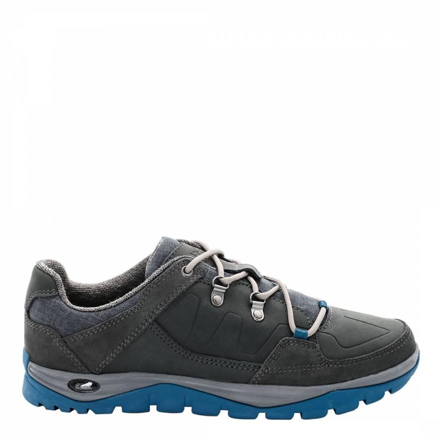 innovative design 45d24 3448d Jack Wolfskin Men's Grey/Blue Providence Low Winter Shoes