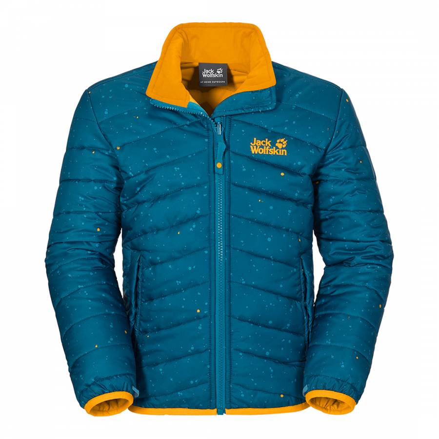 9e7e3e4da286 Boy s Blue Crosswind Microguard Jacket - BrandAlley