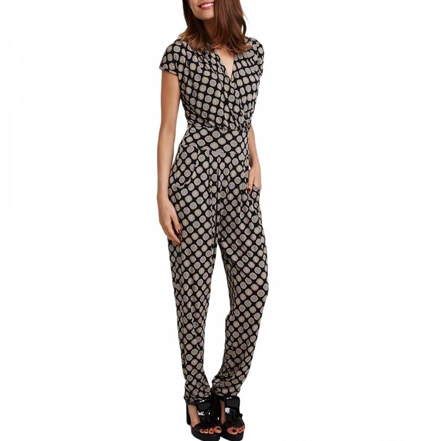 a4225ea3ba Black Megan Shrot Cravat Stretch Jumpsuit - BrandAlley