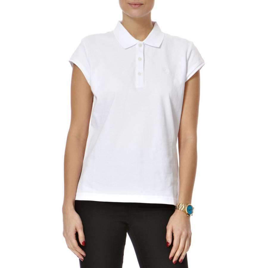 d07d5d64e White Miranda Cotton Polo Shirt - BrandAlley