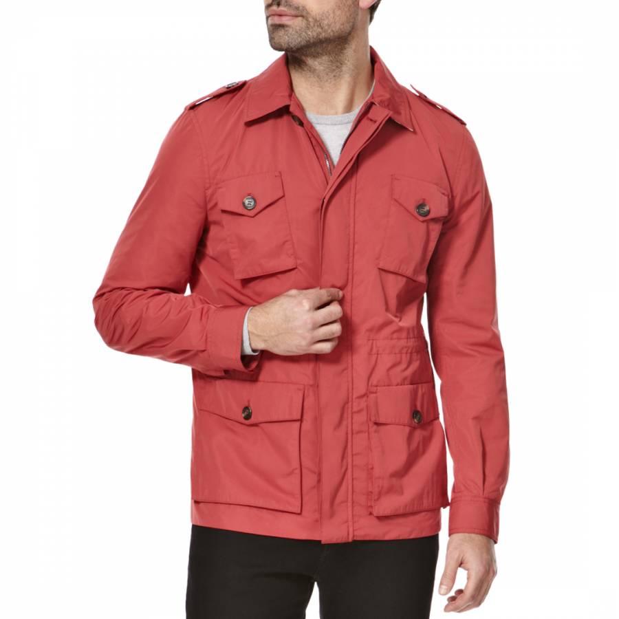59a97dfd2 Red Blythe Field Jacket - BrandAlley
