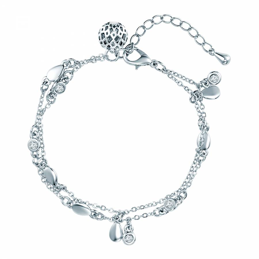 Lilly   Chloe Silver Swarovski Crystal Elements Bracelet 42be4719f
