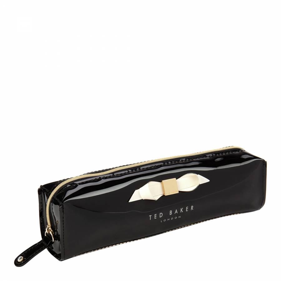huge selection of 37a3b 937bd Black Bow Pencil Case