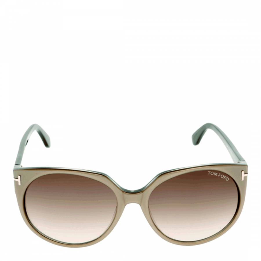 8d66e8cd12c14 Women s Light Brown Agatha Sunglasses - BrandAlley