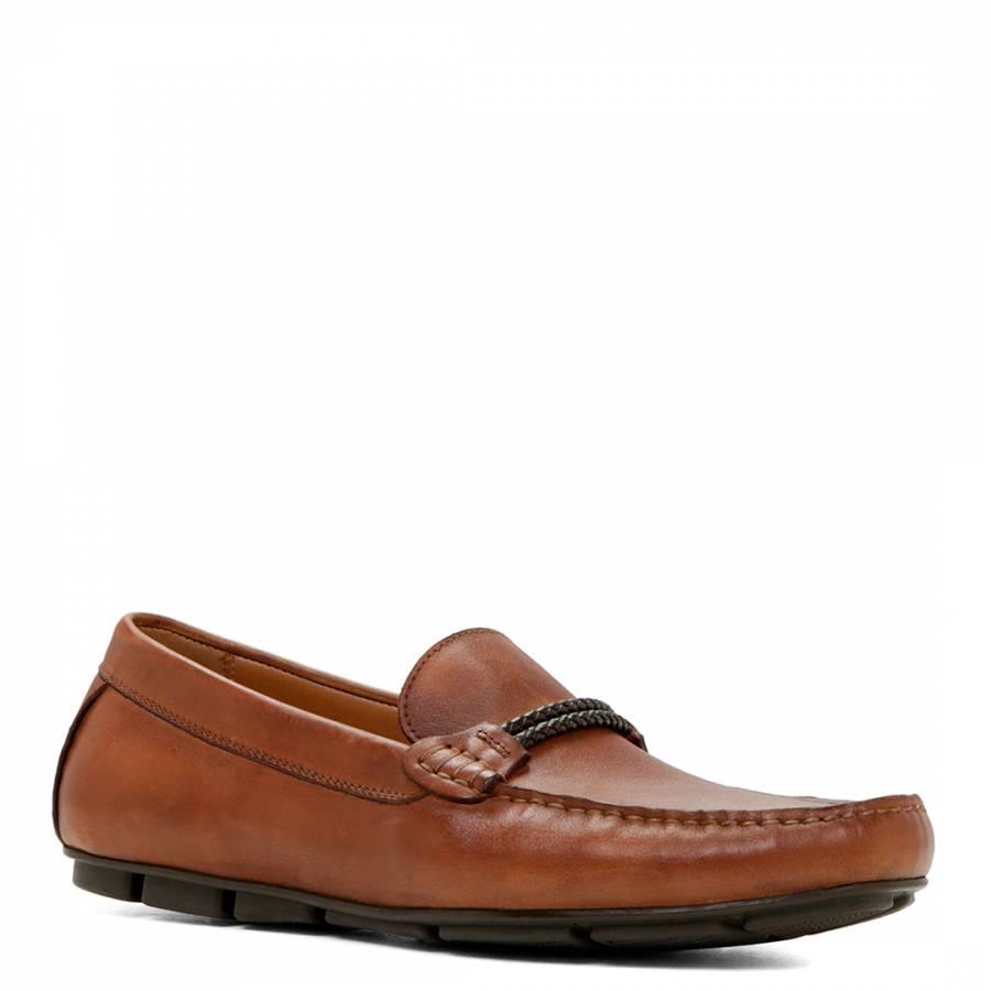 f4b9ec714a2e Men s Tan Leather Uneini Loafers - BrandAlley