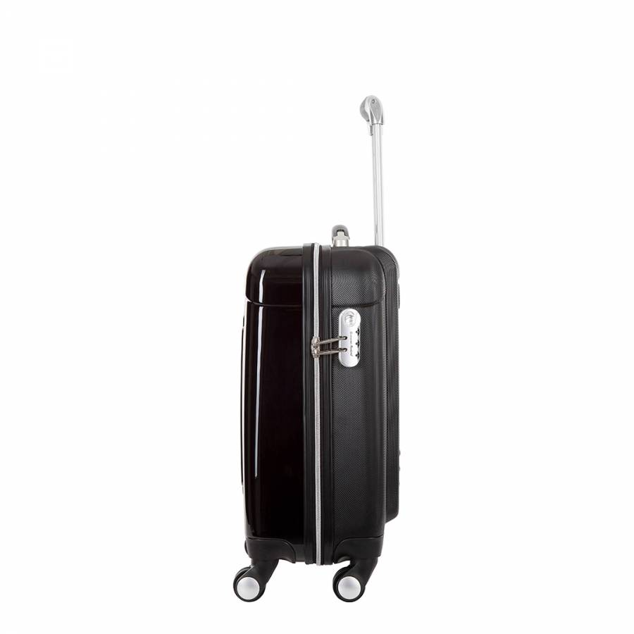 e995bc97e1 Black Commodore Spinner Suitcase 50cm - BrandAlley