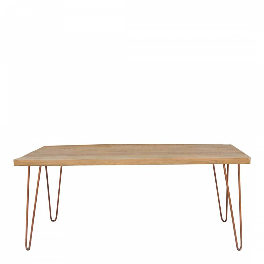 Wooden Iron Dining Table Brandalley