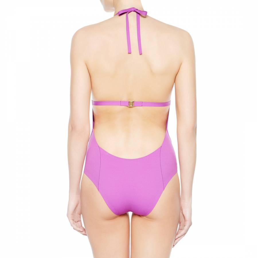 39ca7f37cb La Perla Violet Eclipse Underwired Swimsuit. prev. next. Zoom