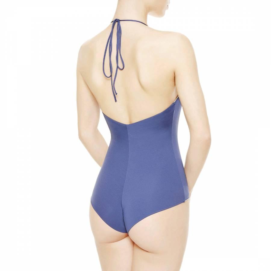 8d93bdfd9d La Perla Blue Silver Summer Chain Swimsuit. prev. next. Zoom