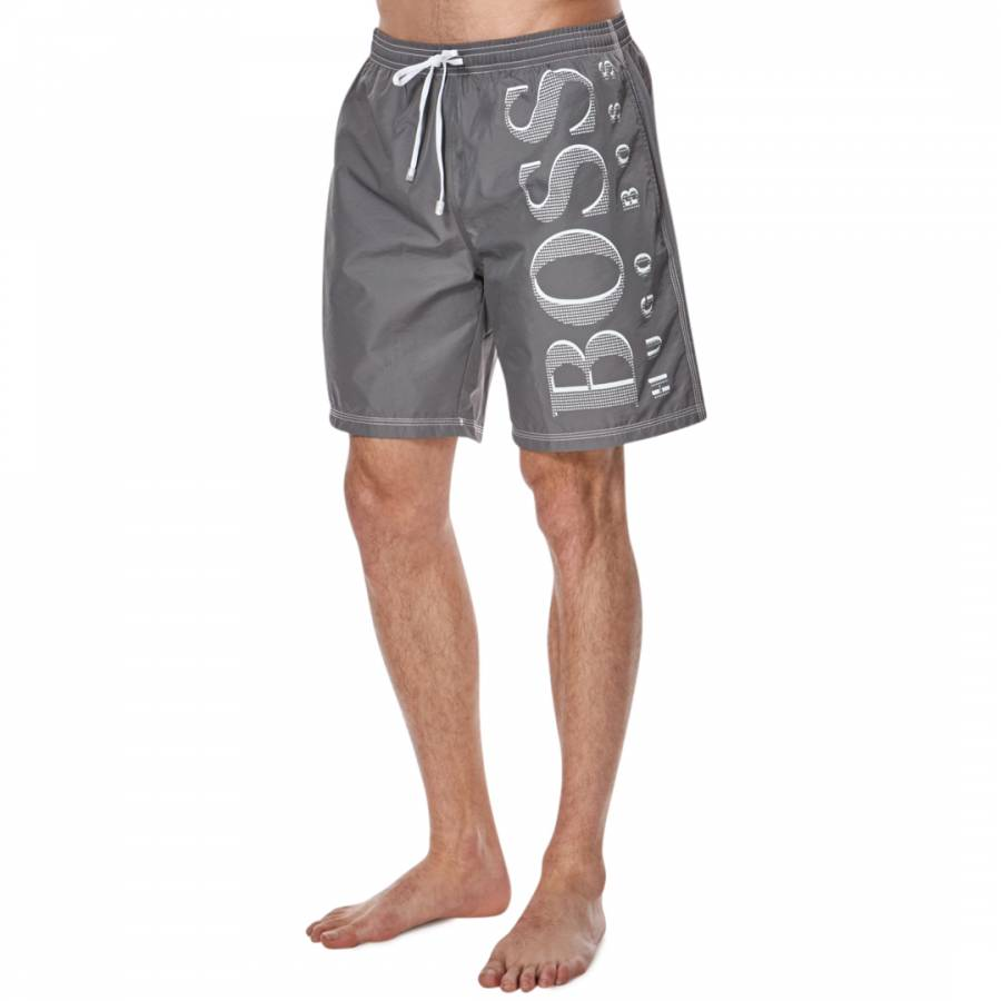 2d93d77b6efa0 Grey Killifish Swim Shorts - BrandAlley