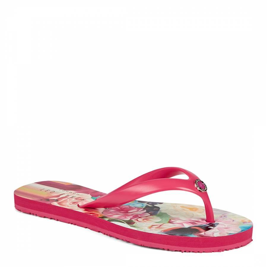 b13b7f960 Multi Ryasa Floral Swirl Flip Flops - BrandAlley