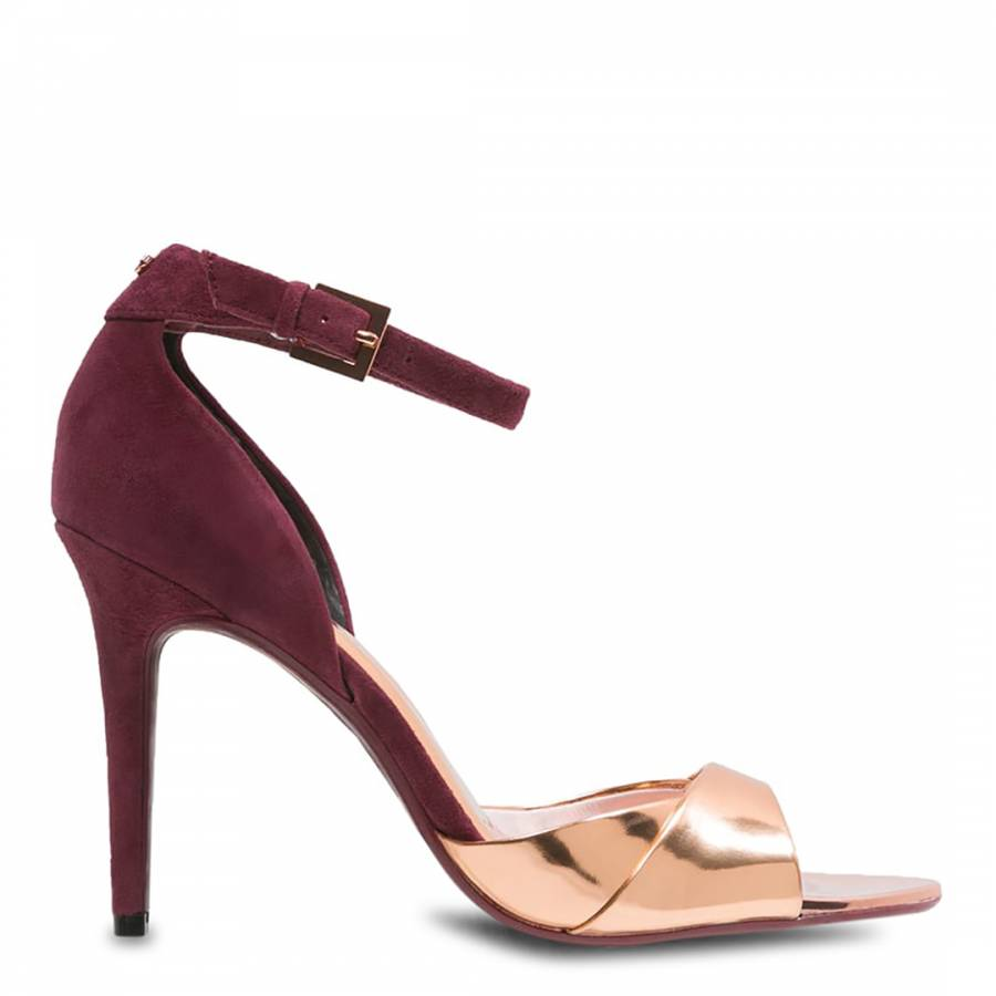 Ted Baker Heels Shoes Hight Heel Red