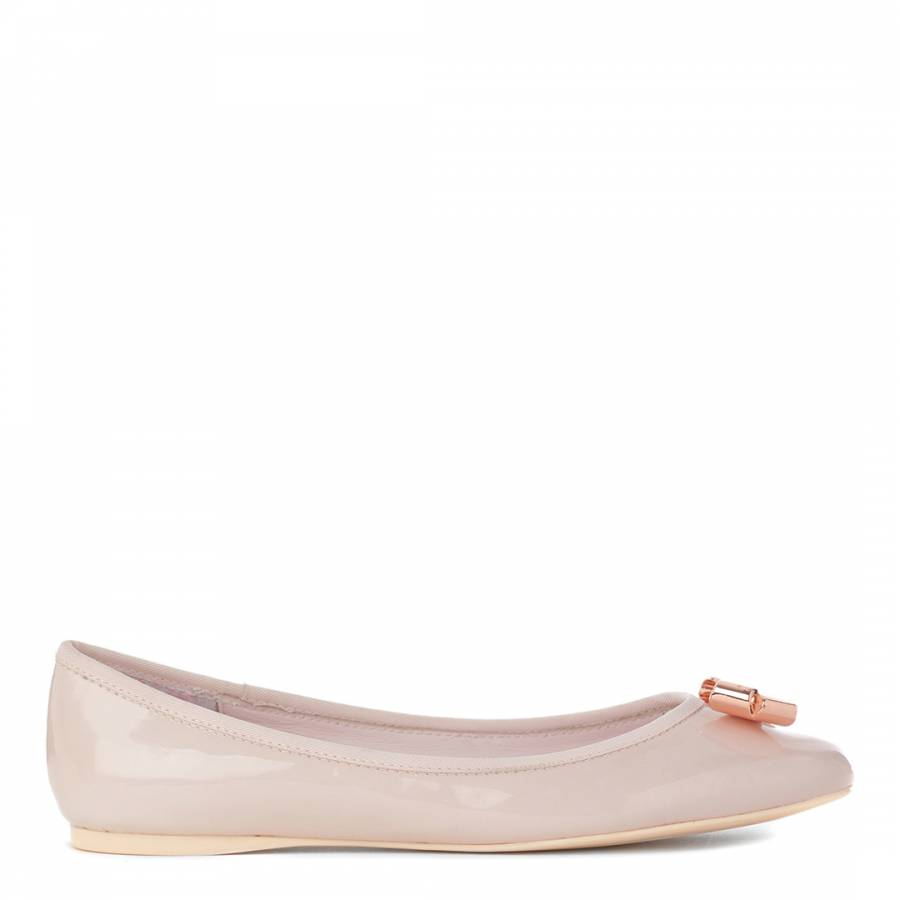 4787455a7c1bbf Pale Pink Patent Leather Imme Pumps - BrandAlley