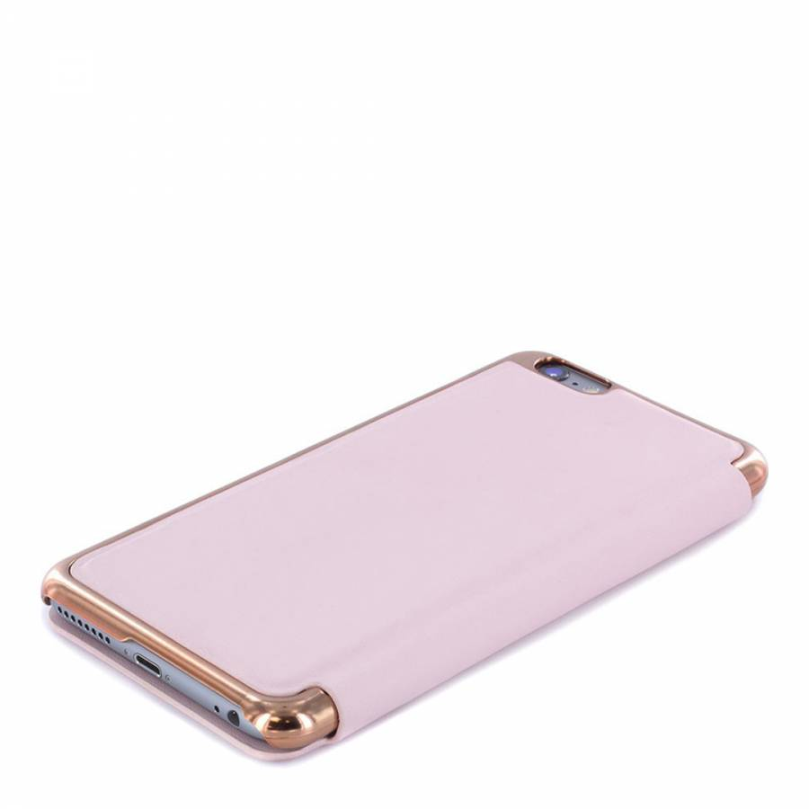 08e99dd361f Nude/Rose Gold Shannon Apple Iphone 6/6S Slim Mirror Case - BrandAlley