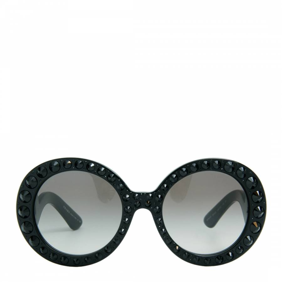 ae4bb50d9e5c4 Women s Black   Grey Gradient Sunglasses 55mm - BrandAlley