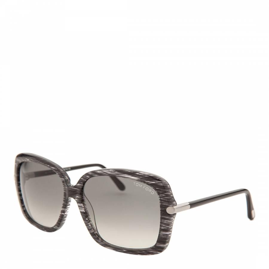 4bc6a83755dc7 Women s Black Paloma Sunglasses - BrandAlley