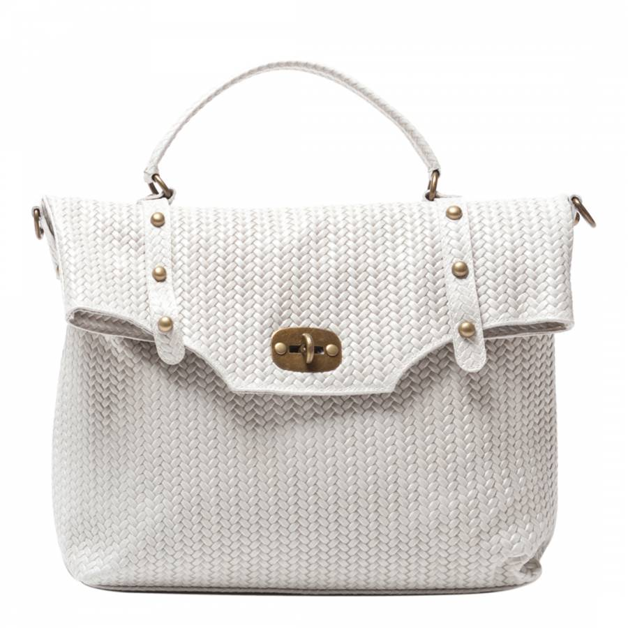 dc103f62e2 Sofia Cardoni Beige Leather Shoulder Bag