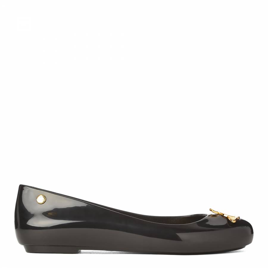 premium selection best 100% high quality Black Space Love Orb Ballet Flats - BrandAlley