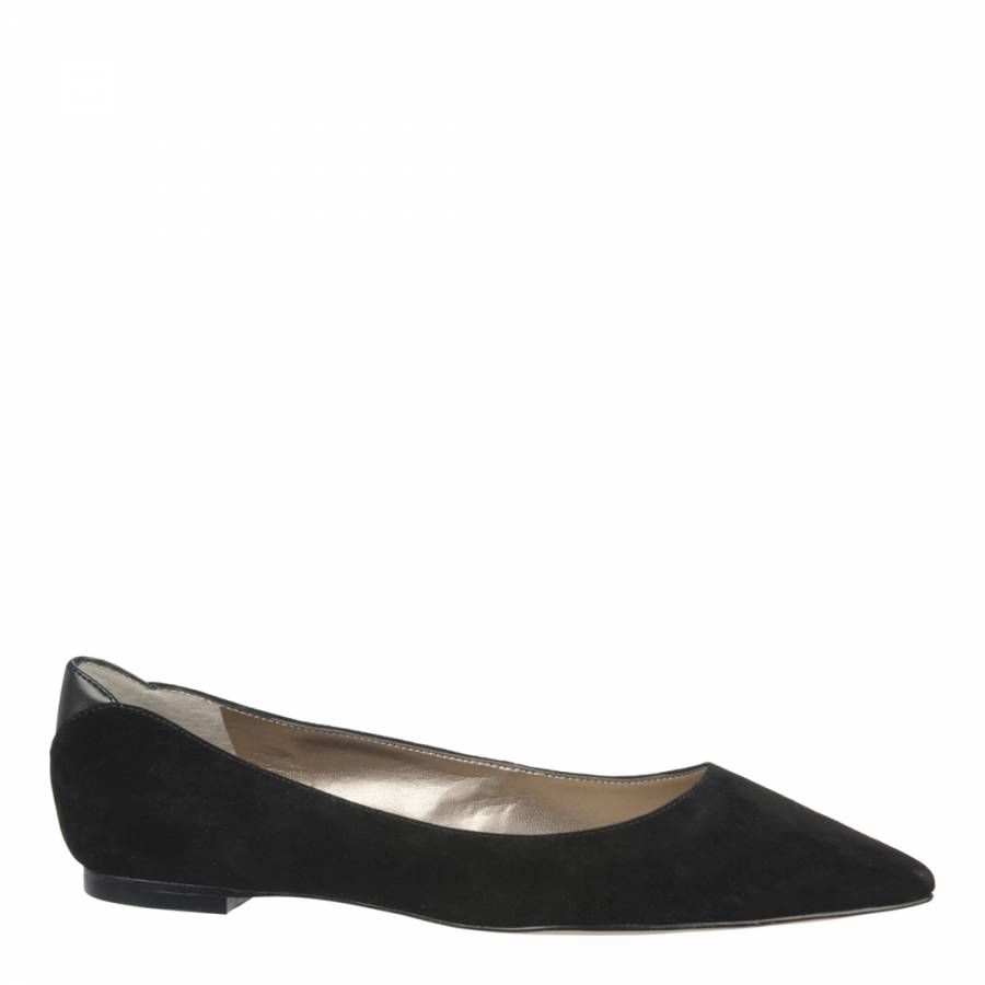 135a017556405 Sam Edelman Black Suede Rae Pointed Flats. prev. next. Zoom