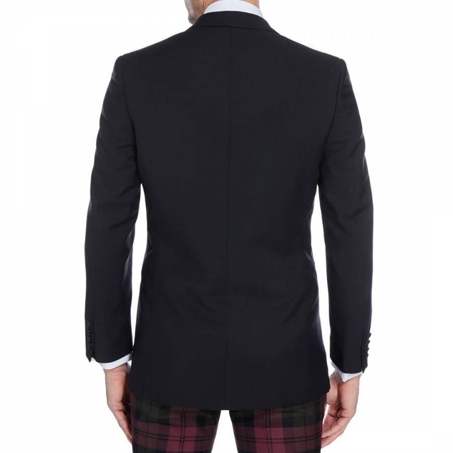 e17536efe Hackett London Black Wool Blend Dinner Jacket. prev. next. Zoom