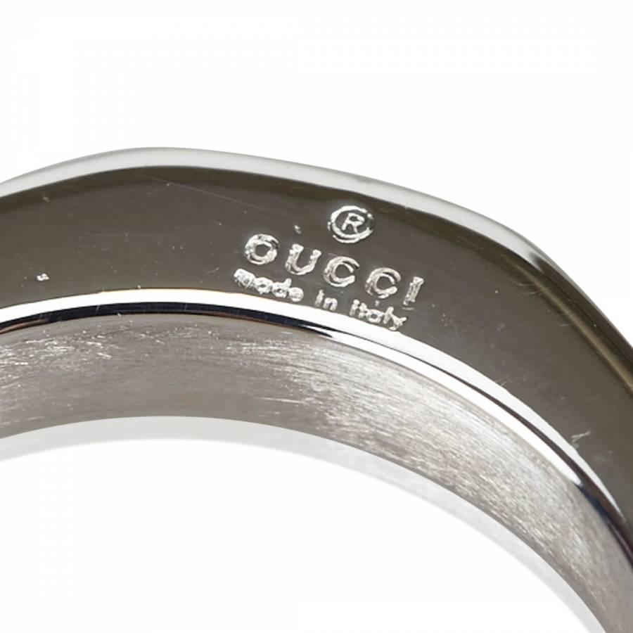 5fe204afb Silver Triple Hexagon Ring Size 50 - BrandAlley