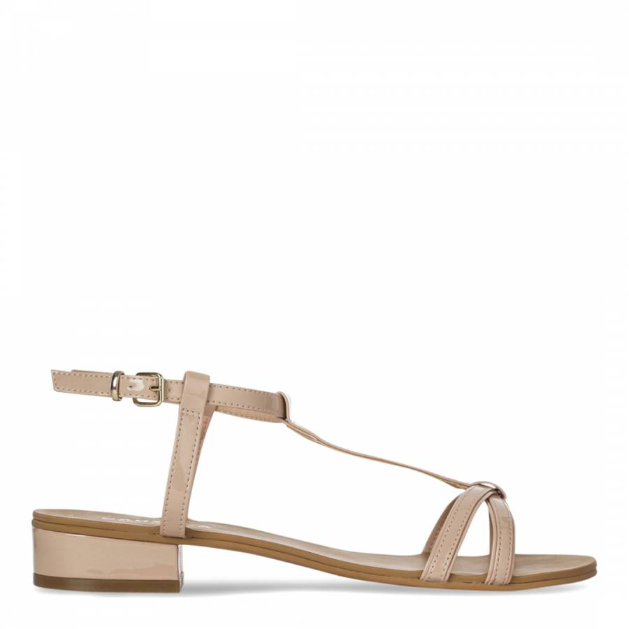f84a8ebeaea Carvela Kurt Geiger Nude T Bar Bounty Sandals