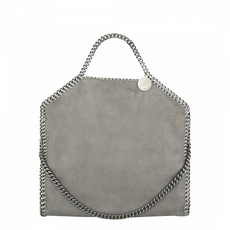 2b04d08c4e Stella McCartney Grey Fold Over Falabella Tote Bag