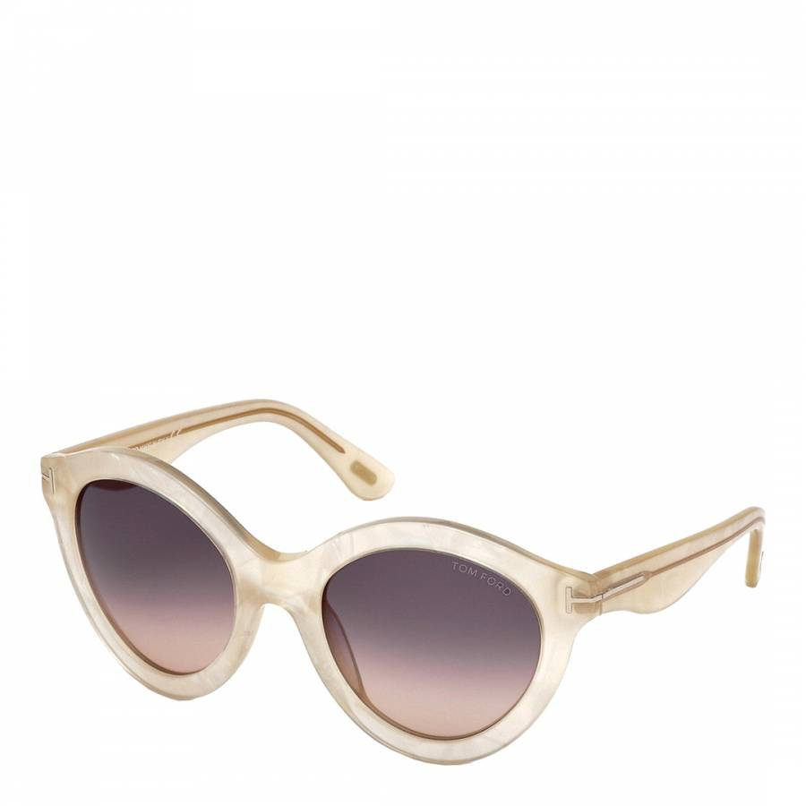 bf545faddc69 Zoom · Tom Ford Women s Mother of Pearl   Grey Gradient Sunglasses