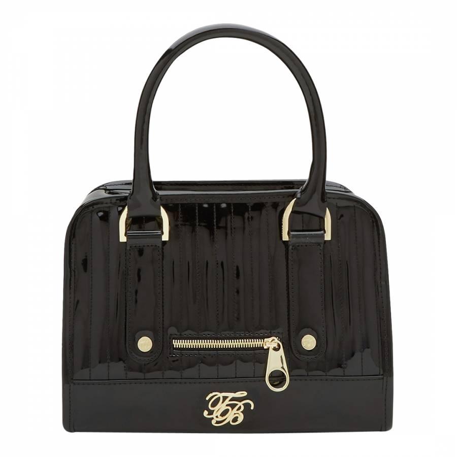 1b46248f55e Black Woody Mini Bowler Bag - BrandAlley