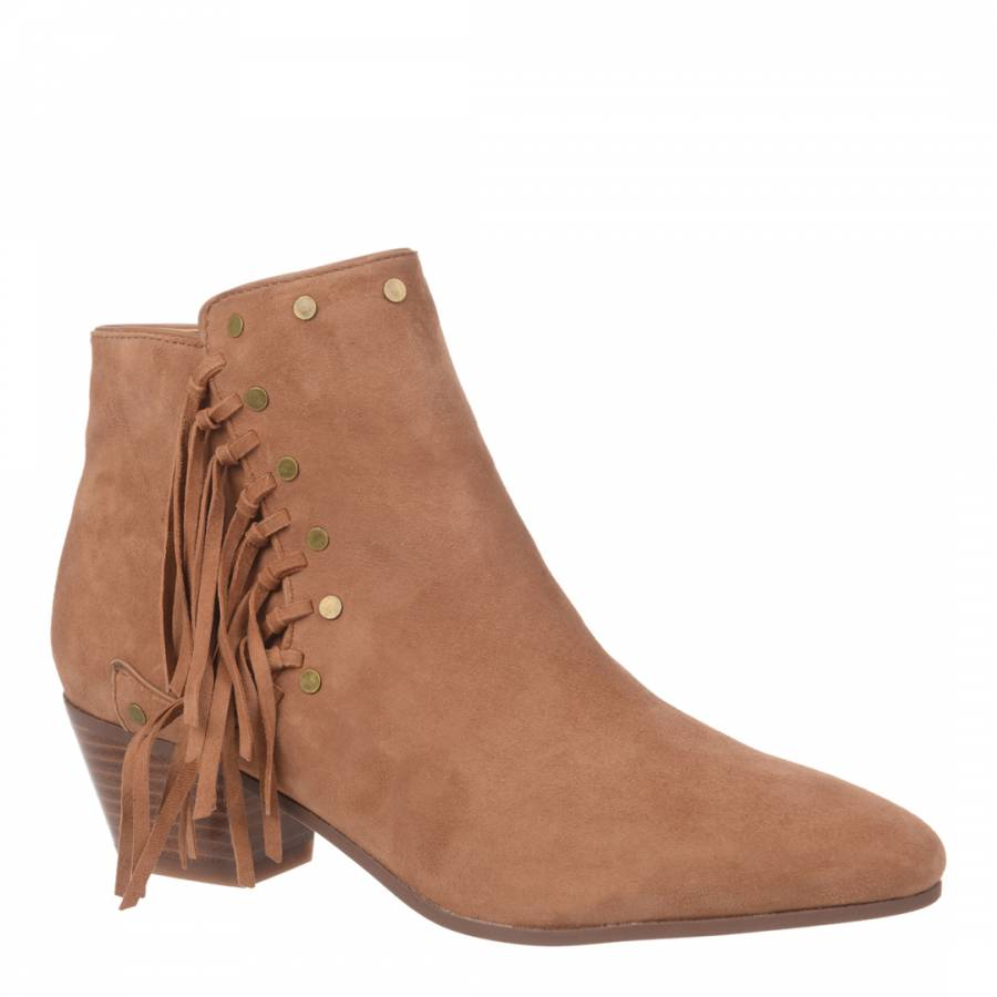 e4a12217bb3fe0 Saddle Suede Rudie Ankle Boots - BrandAlley