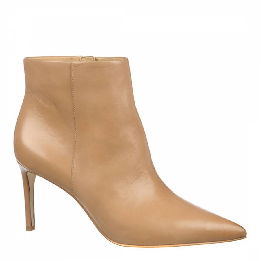 4bcc98888e803b Sam Edelman Tan Leather Karen Heeled Ankle Boots. prev. next. Zoom