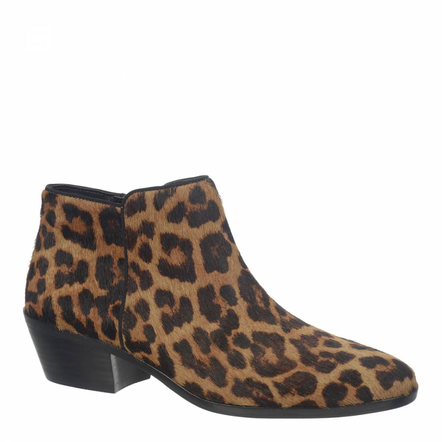 80cf82f820af6 ... Leopard Print Pony Hair Petty Ankle Boots. prev. next. Zoom