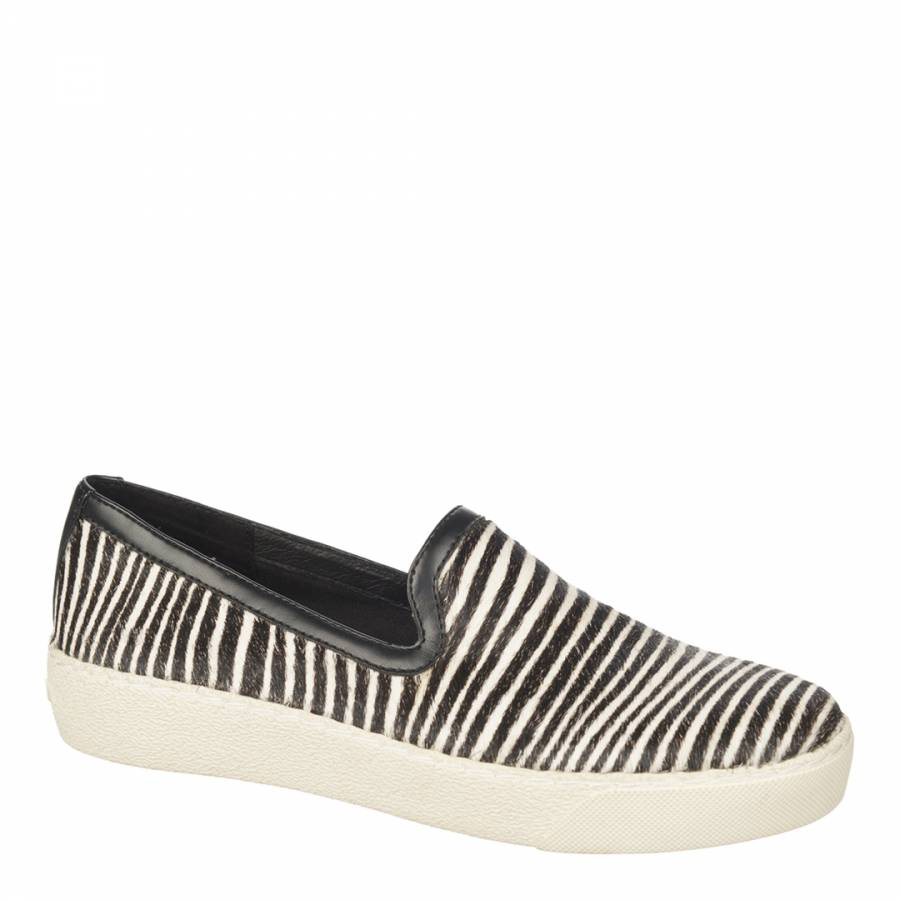 450b07216798e Zebra Print Bramha Hair Becker Slip On - BrandAlley