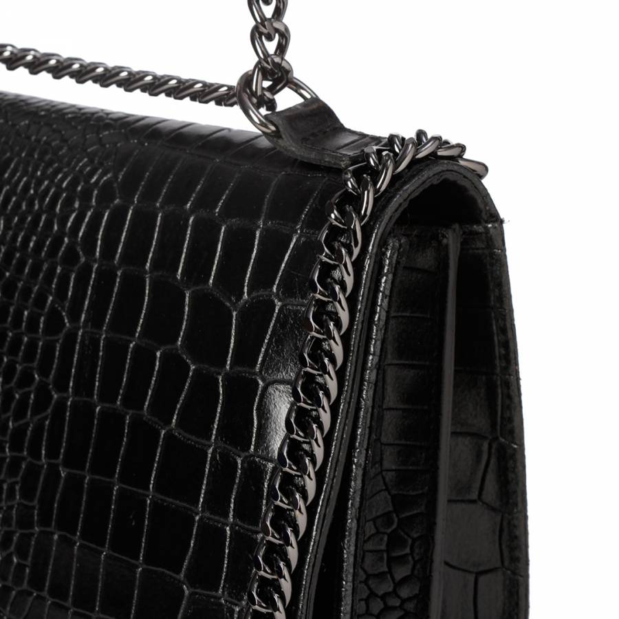 Lisa Minardi Black One Chain Shoulder Bag. prev. next. Zoom 982c11320cf50