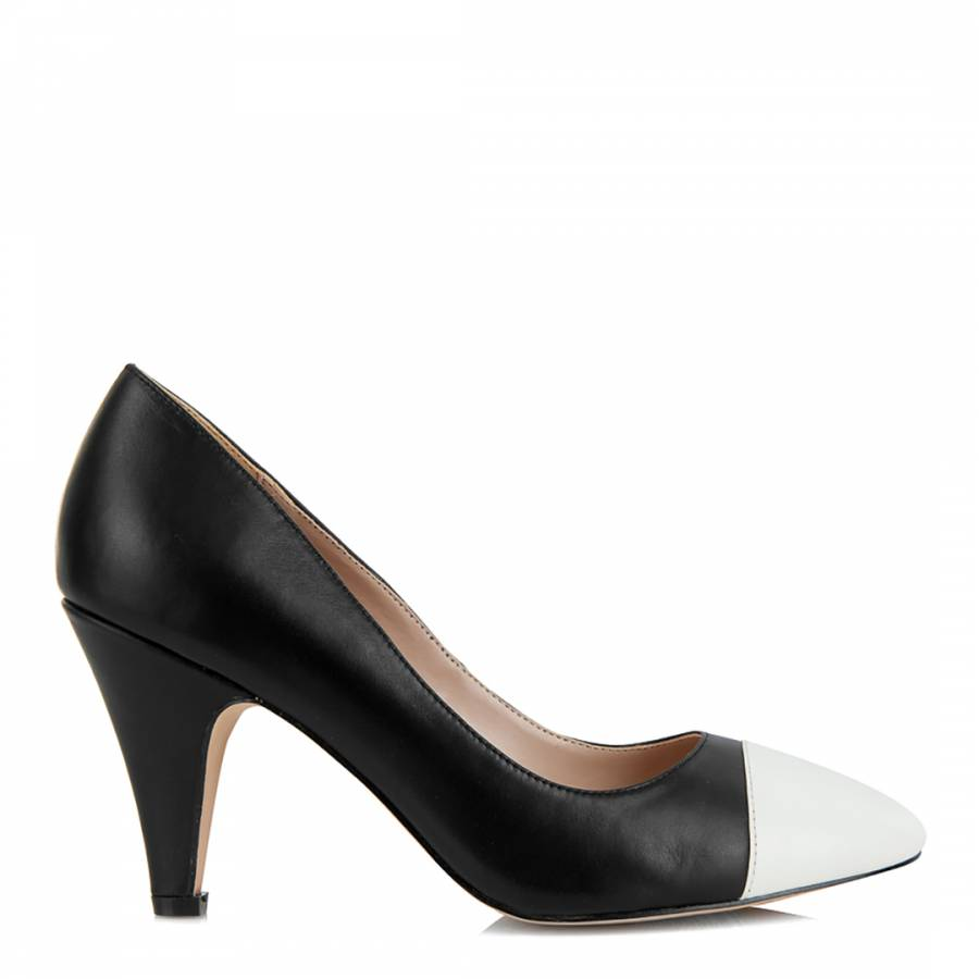 black and white borough court shoes brandalley