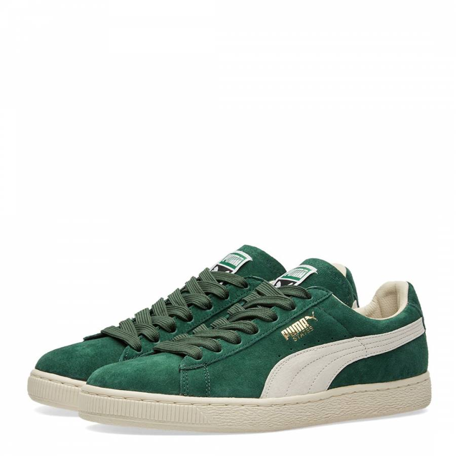 79196a8b Unisex Green Suede States Trainers