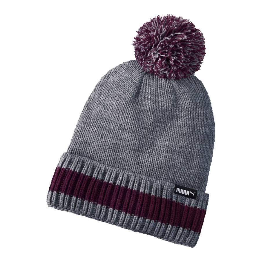 d4a2f6ba349 Men s Grey Red LS Phoenix Knit Hat - BrandAlley