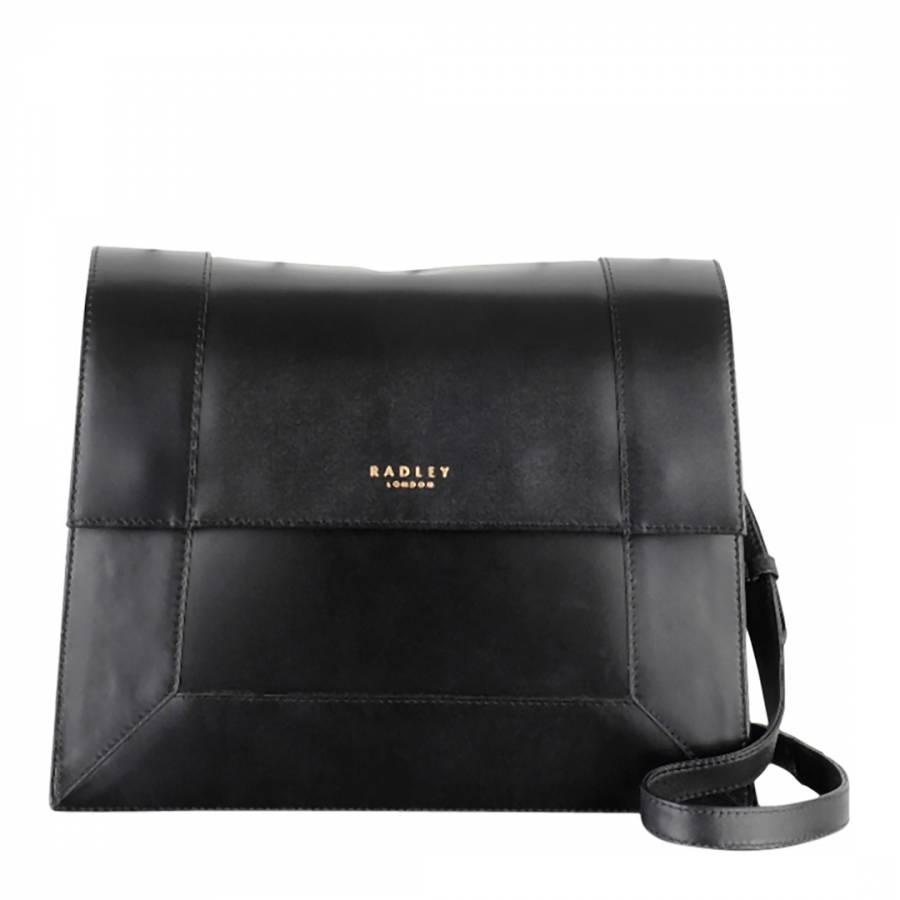 42298f53b5 Black Hardwick Medium Zip Top Cross Body Bag - BrandAlley