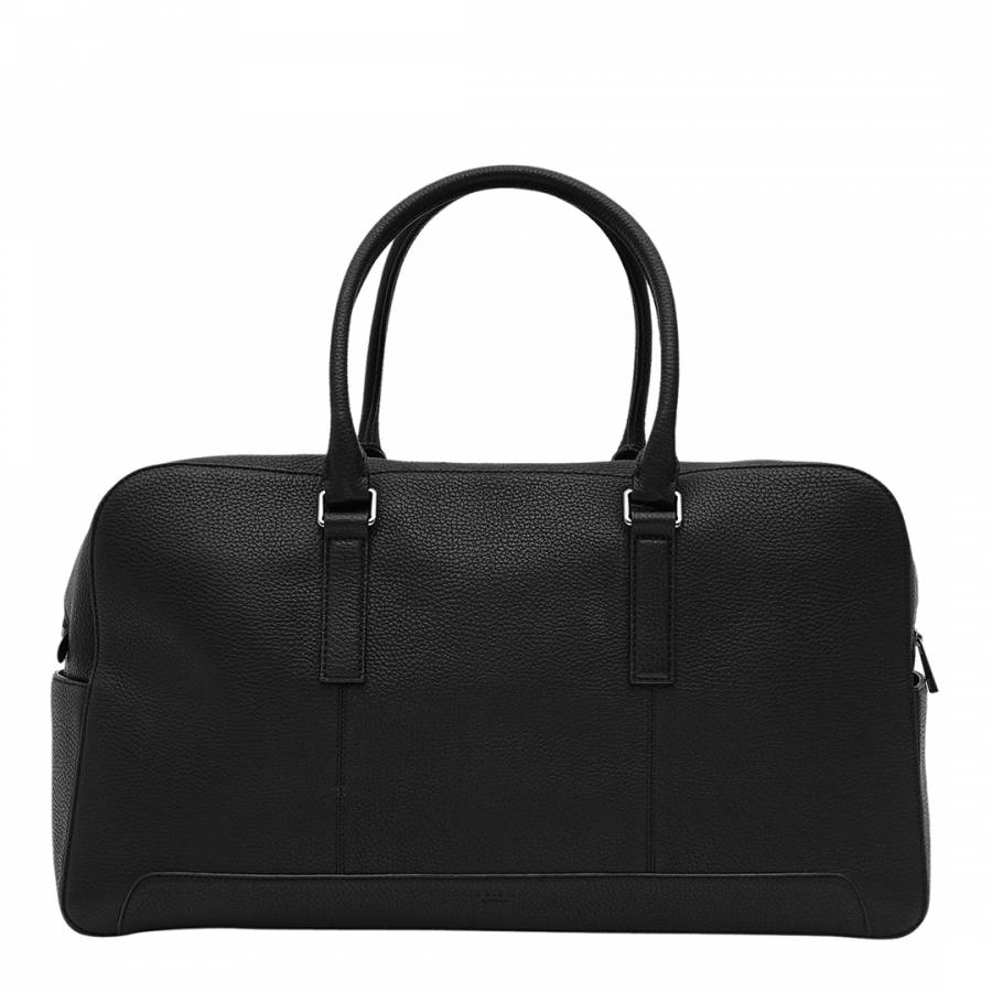 Black leather Leve Weekend Bag - BrandAlley bf11fc310e316