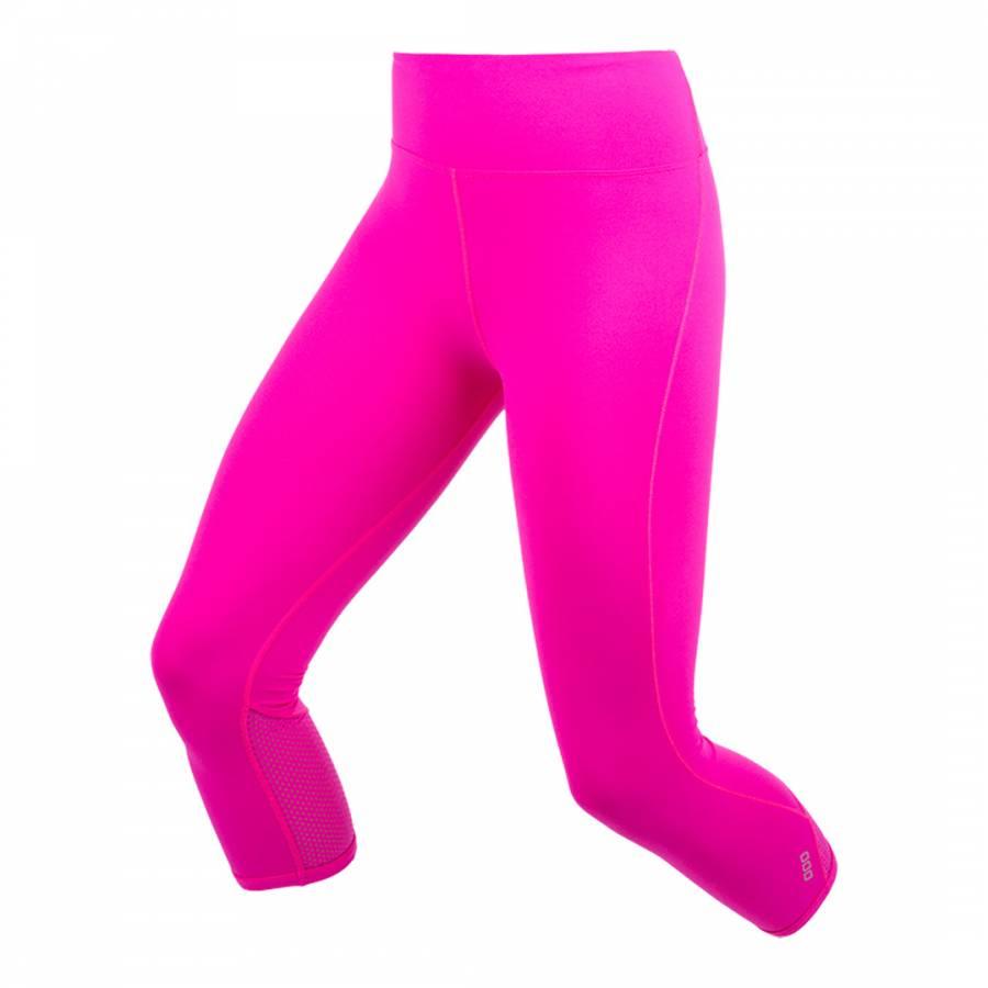 e06f4cf937be37 Neon Pink Diva 7/8 Tights - BrandAlley
