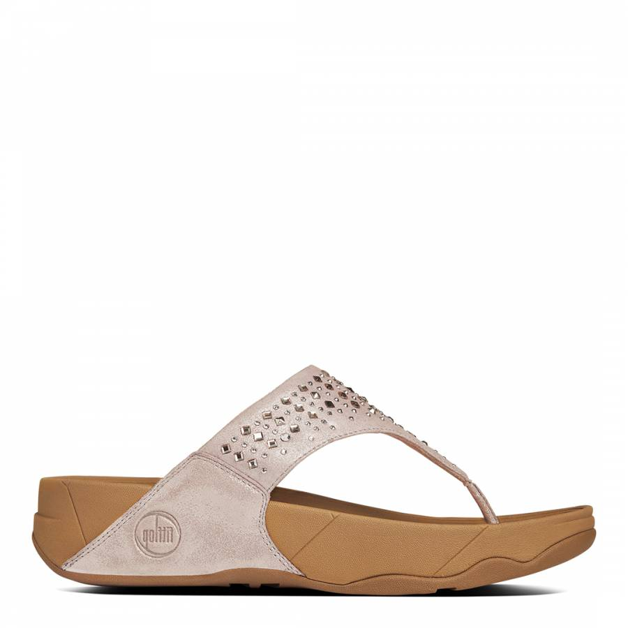 f90ab2528 Nude Leather Novy Sandals - BrandAlley