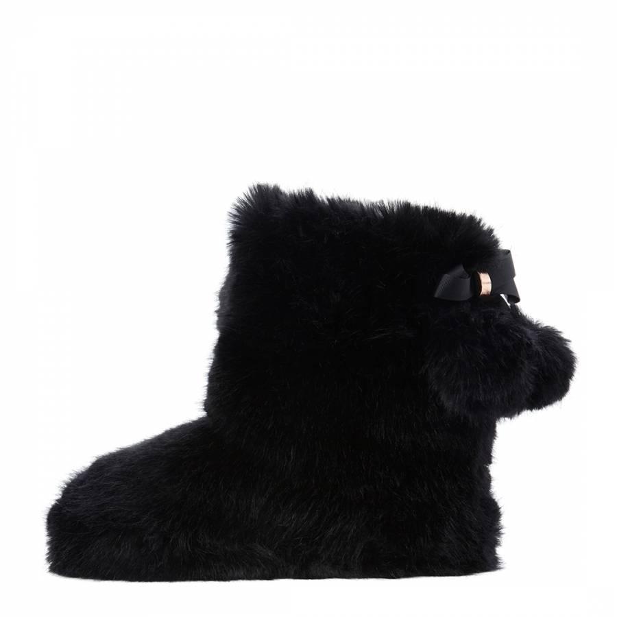 5a65c55fc Black Hamond Slippers - BrandAlley
