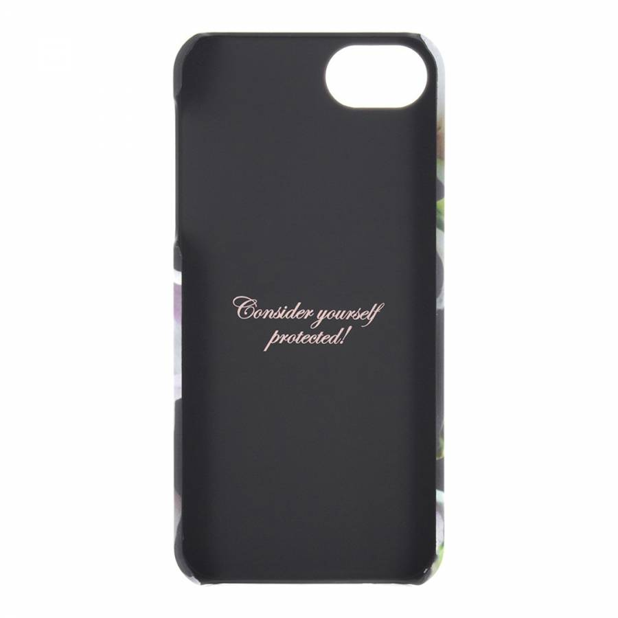 8f2b11cc3 Ted Baker Black Ethereal Posie iPhone 5 5S Soft Feel Hard Shell Case. prev.  next. Zoom
