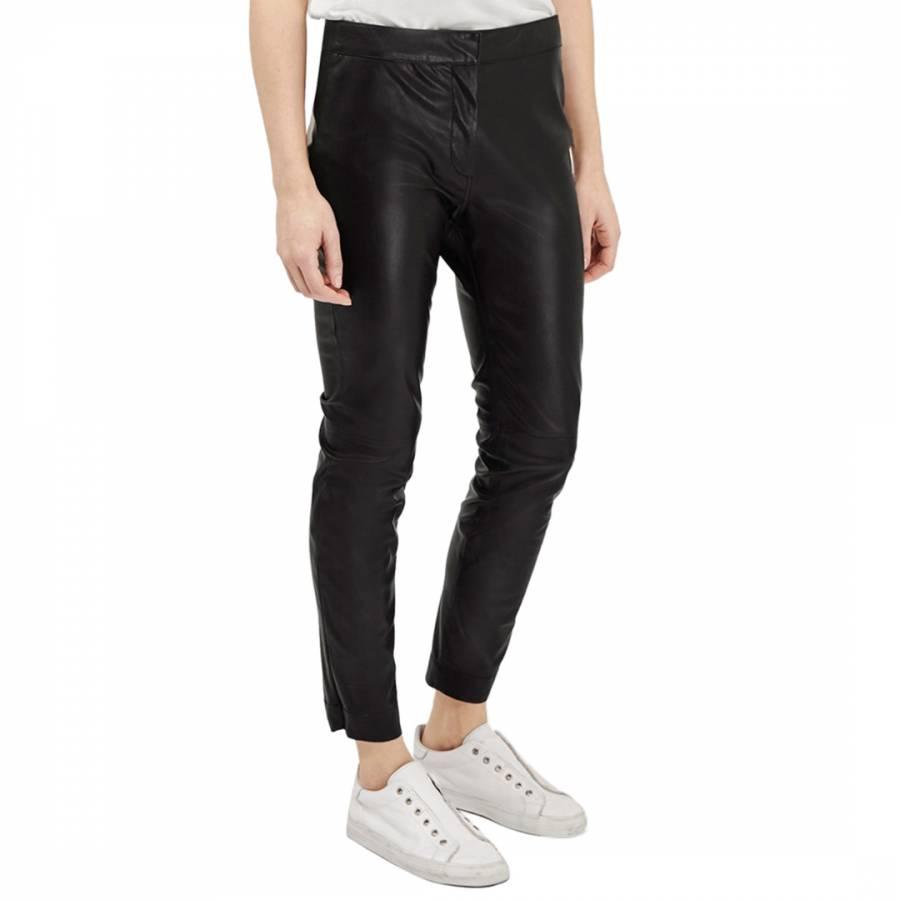 828a5b69bc8 Black Atlantic Faux Leather Trousers - BrandAlley