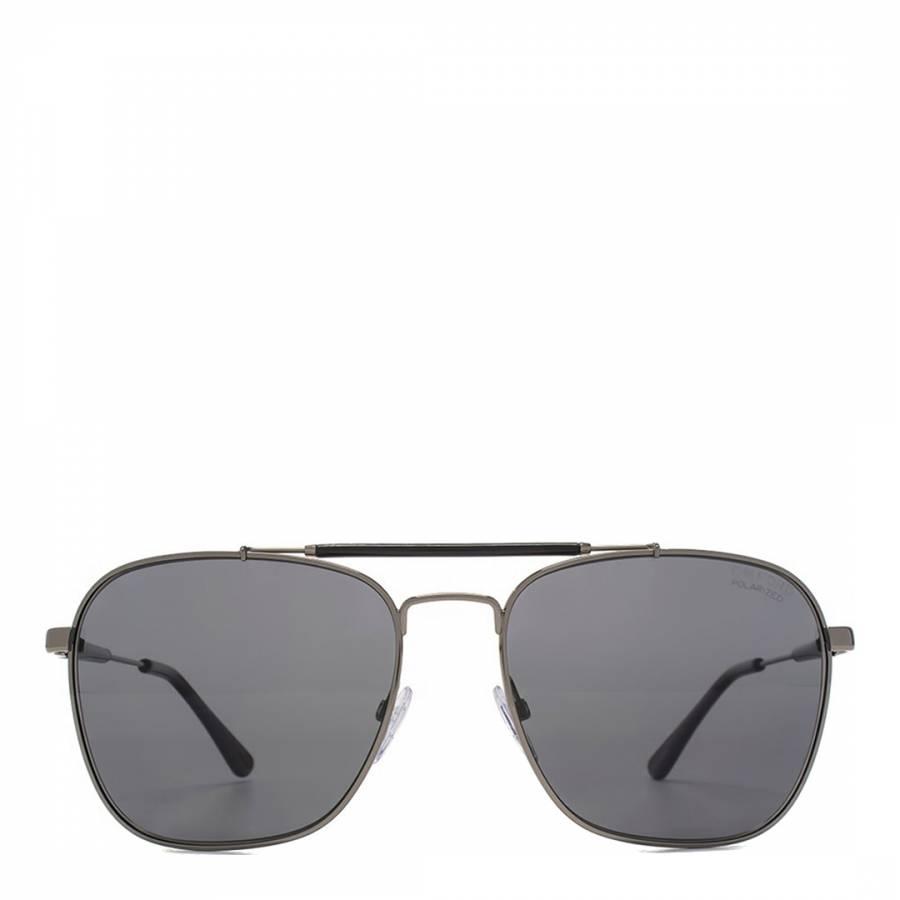 29f19250d8 Men s Gunmetal Polarized Smoke Edward Sunglasses 58mm - BrandAlley