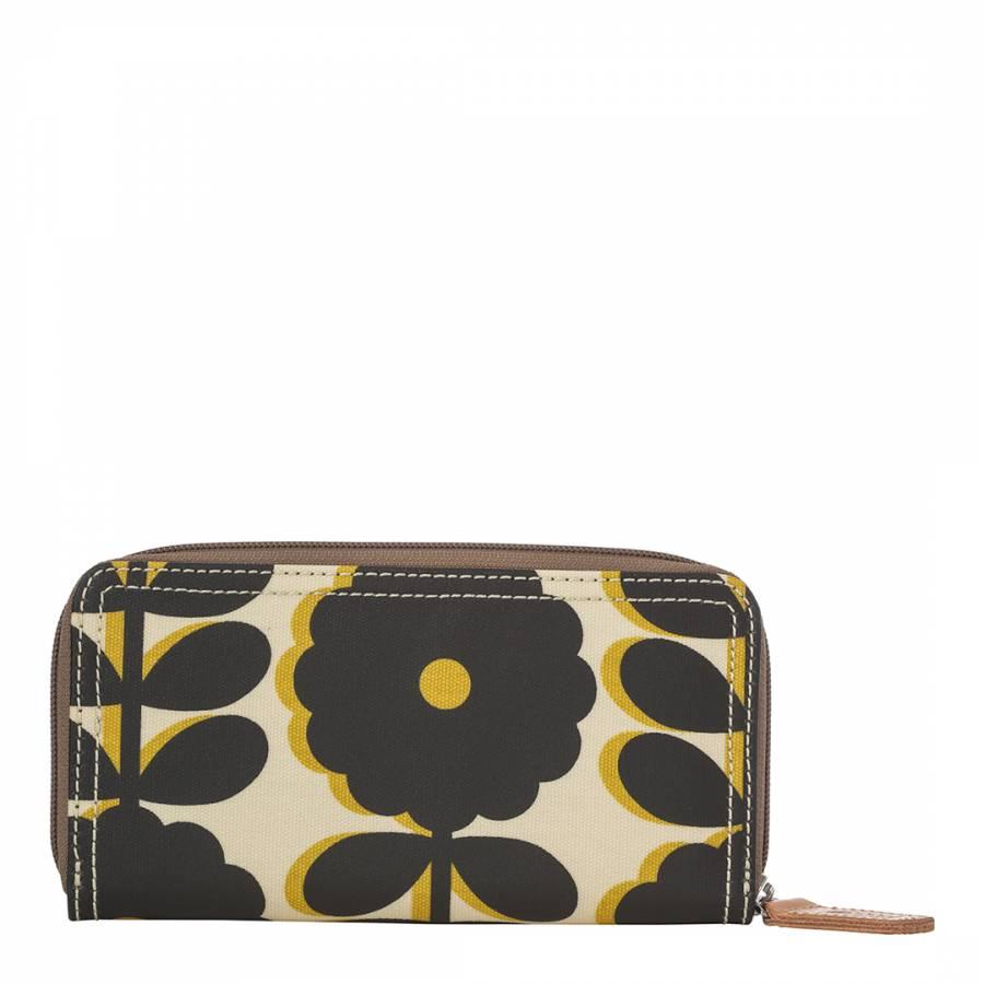 cutout wildflower big zip wallet bumblebee brandalley