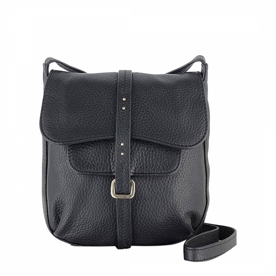 Radley Black Small Leather Grosvenor Flapover Cross Body Bag. prev. next.  Zoom e4e0e296ea570